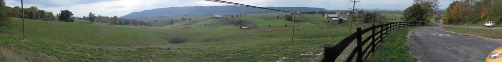 Midland Trail landscape